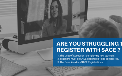 The Guardian can assist you to become SACE Registered